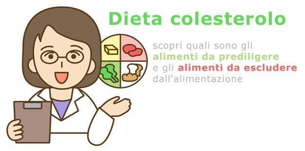 colesterolo quali cibi mangiare