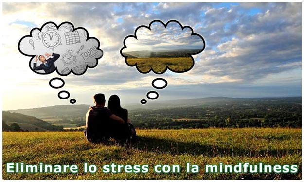 Mindfulness utile in caso di stress