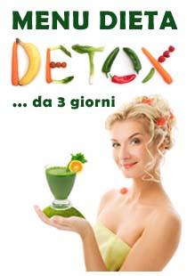 dieta depurativa di 3 giorni