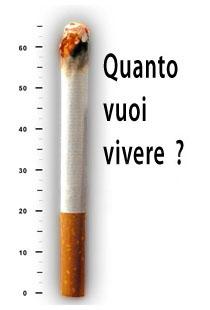 perdere peso fumando