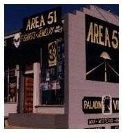 Negozio con souvenir di Area 51