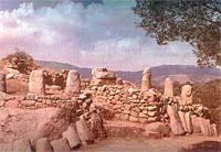 Stonehenge : menhir antropomorfi