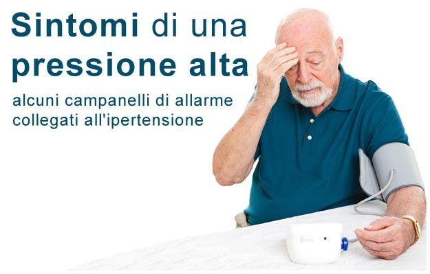 pressione alta sintomi ipertensione arteriosa